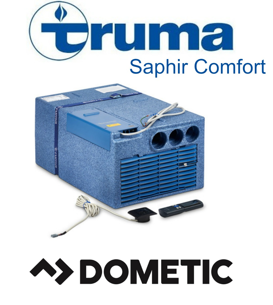 truma saphir comfort reverse cycle underbunk air. Black Bedroom Furniture Sets. Home Design Ideas