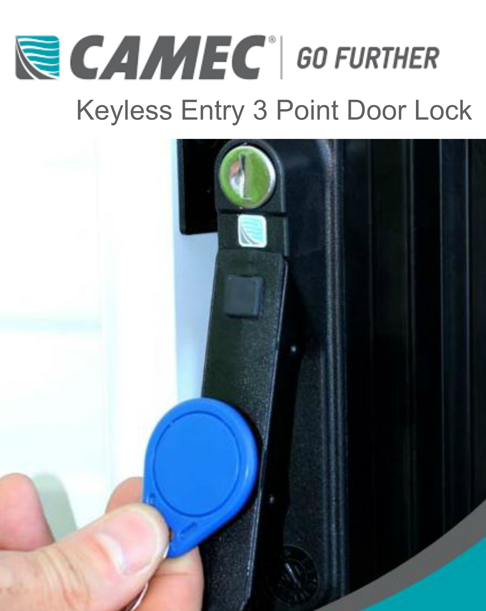 Camec Keyless Entry 3 Point Main Door Lock & Camec Keyless Entry 3 Point Main Door Lock - Suncoast Caravan Service