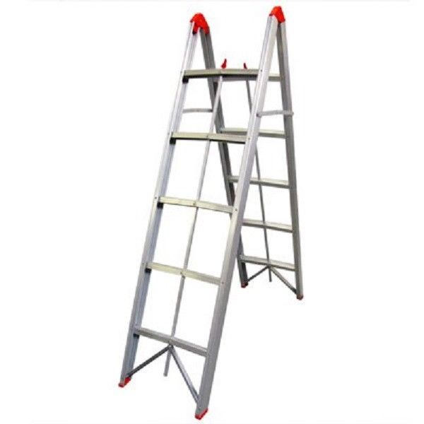 Transeng 5 Step Collapsible Portable Folding Ladder Great ...