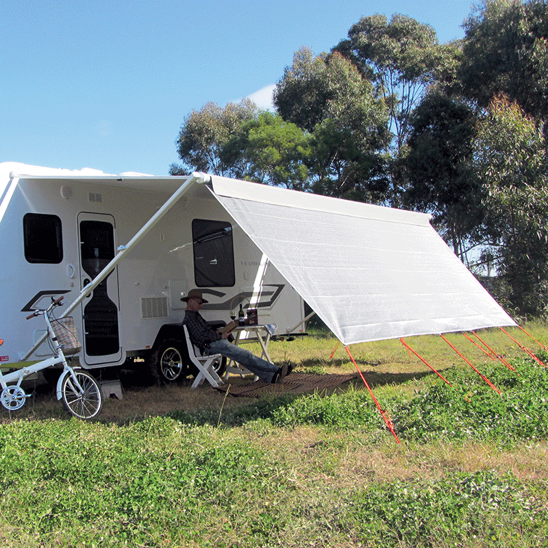 """5.2m Coast Sunscreen Shade Wall Suits 18"""" Rollout Awning ..."""