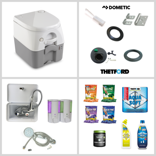 Toilets & Bathroom Accessories