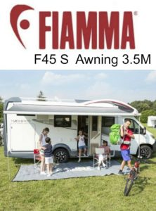 Fiamma-F45-S-Awning-35M-Royal-Grey-Caravan-Pop-Top-Camper-Motorhome-232717935632