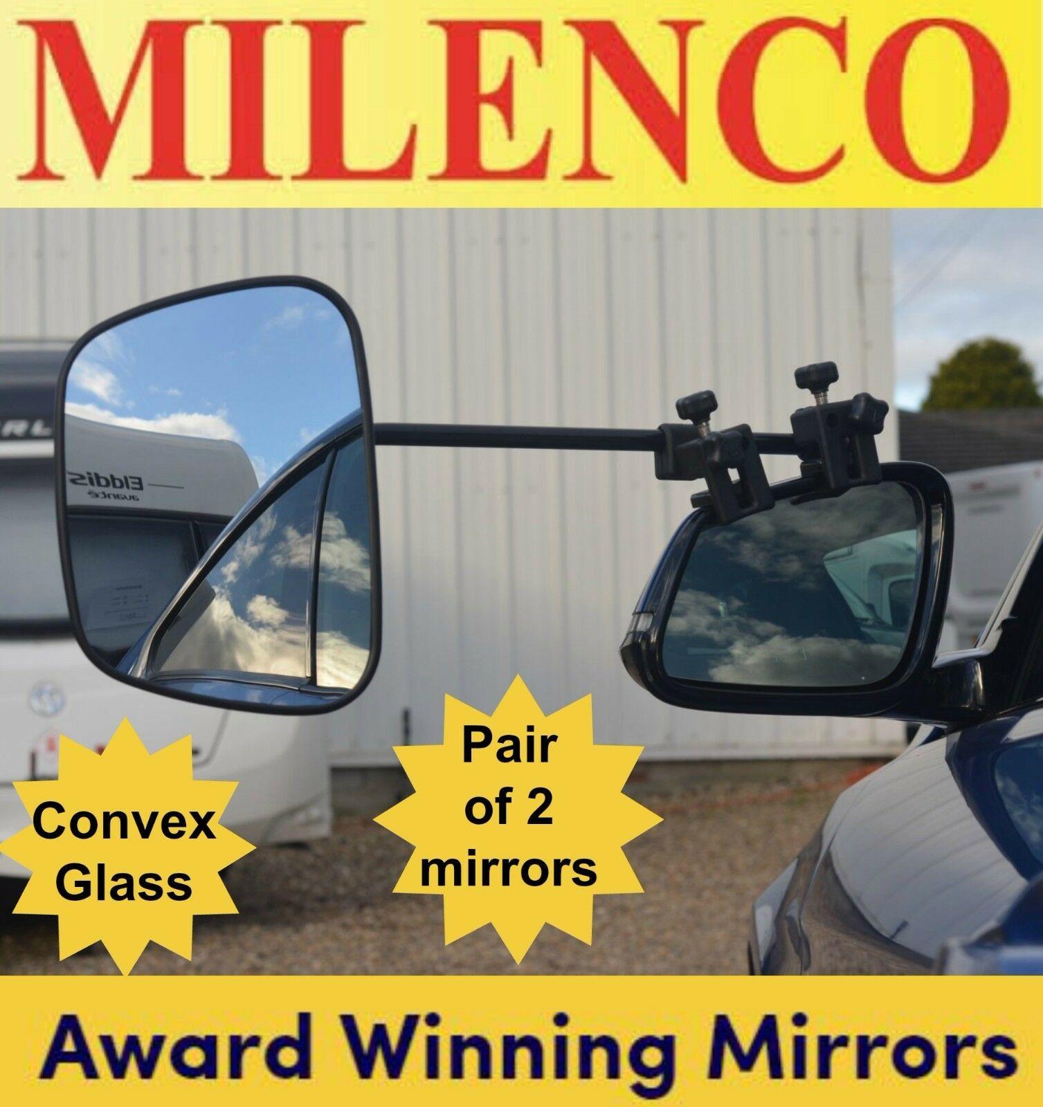 Milenco Grand Aero Mirror Head Convex